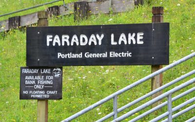 faraday lake sign